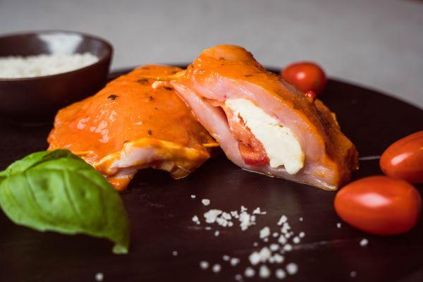 """Steaktaschen """"Italia"""" Tomate/Mozarella vom """"Wohlfühlschwein"""""""