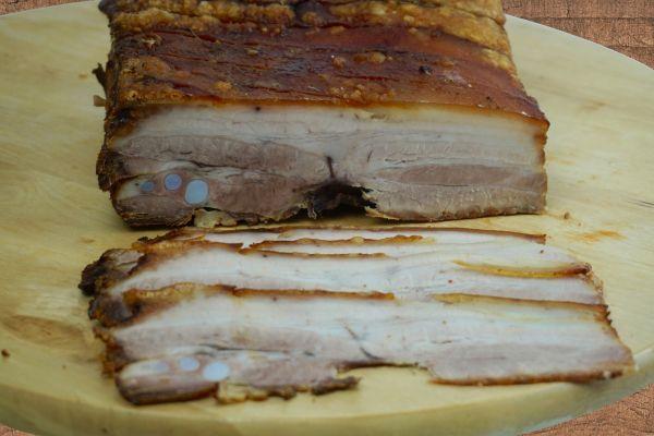 Schweine-Bauch gegrillt