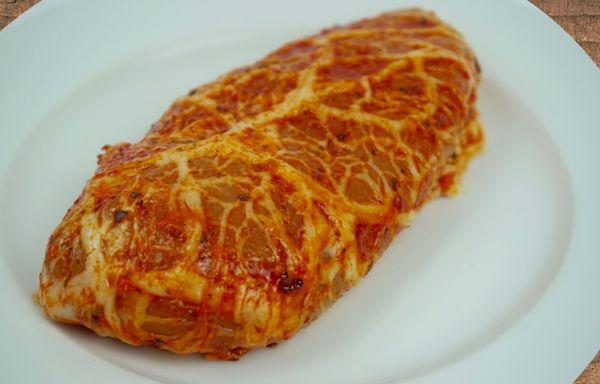 Hähnchenbrust gefüllt mit Tomate/Mozarella