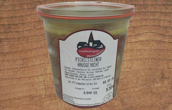 Pickelsteiner hausgemacht