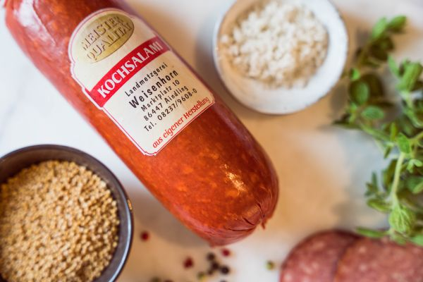 Kochsalami (Portionswurst)