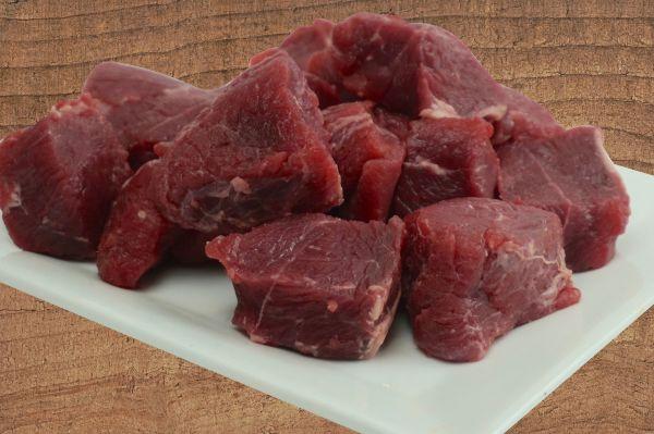 Rinder-Gulaschfleisch von der Wade
